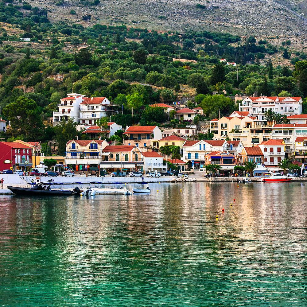 Agia Efimia port
