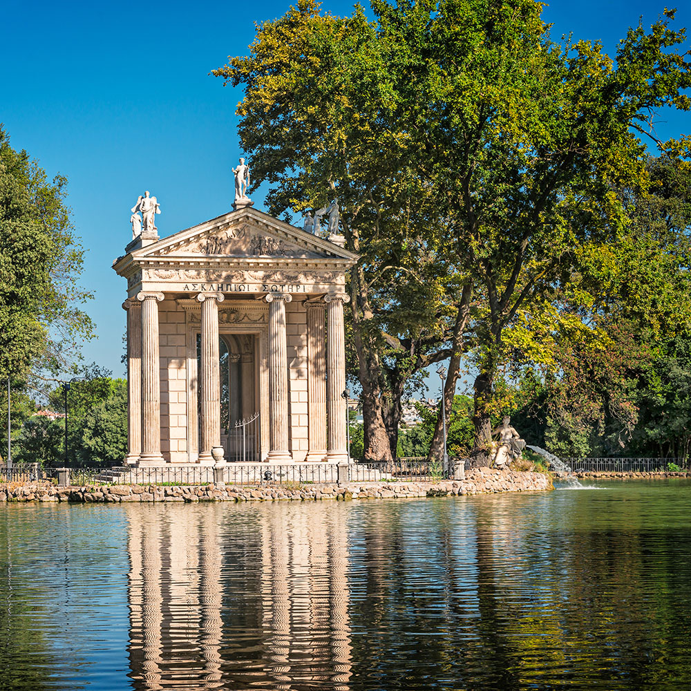 Gardens at the Villa Borghese