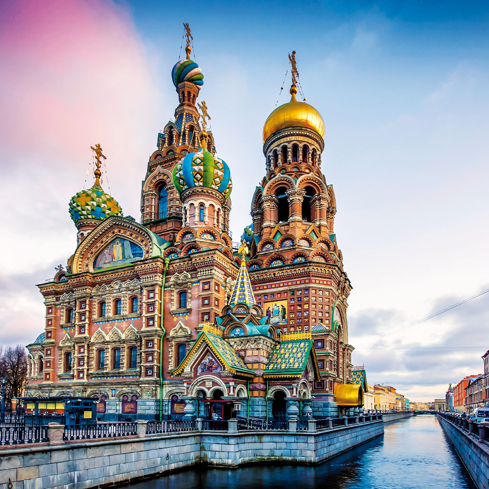 Church of the Savior on the Spilled Blood, St Petersburg