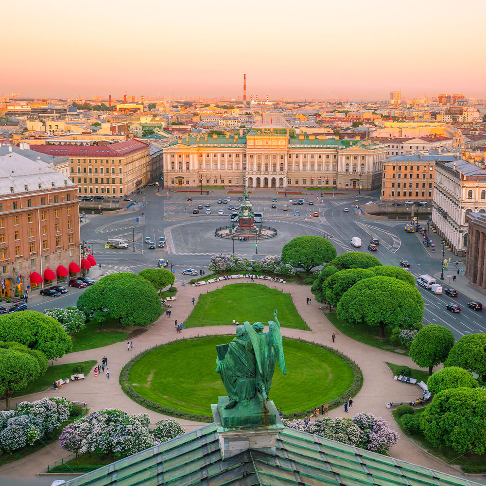 Old town St Petersburg