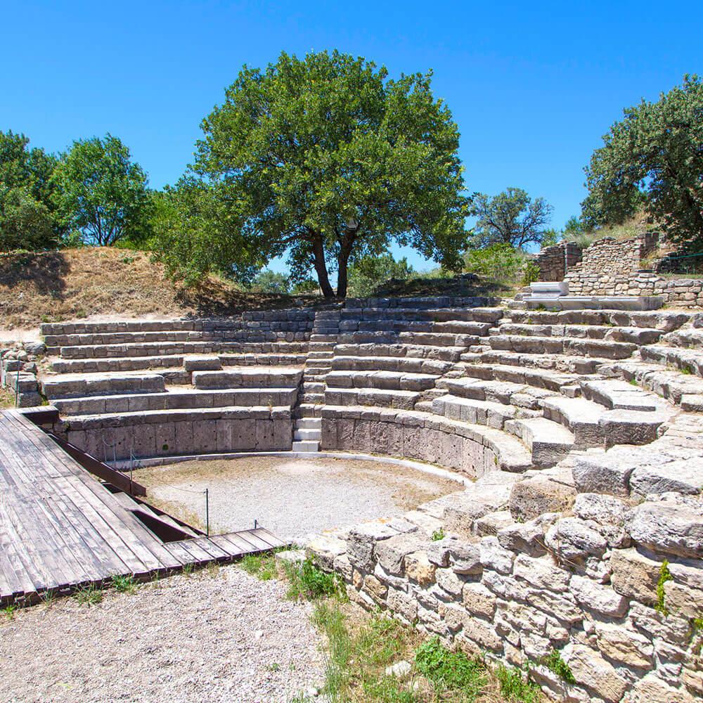 Amphitheatre Ruins, Troy
