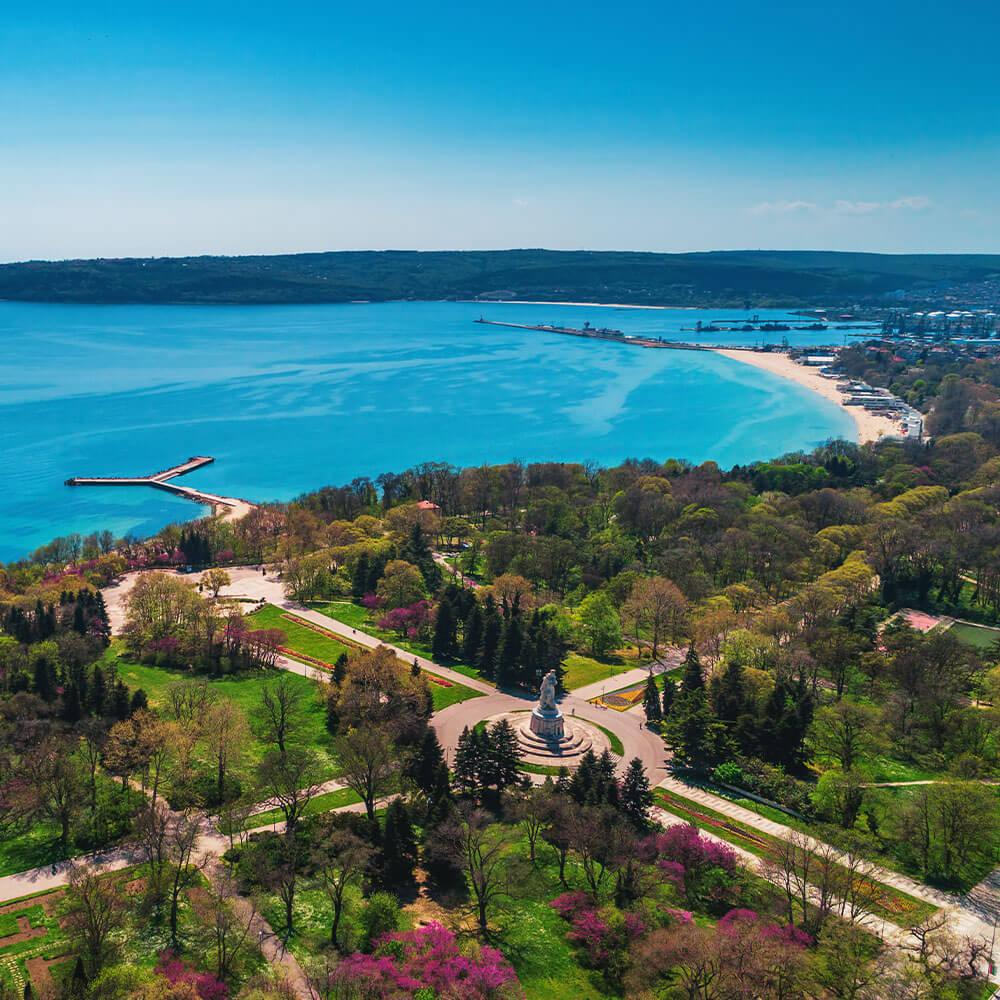 Seafront garden, Varna