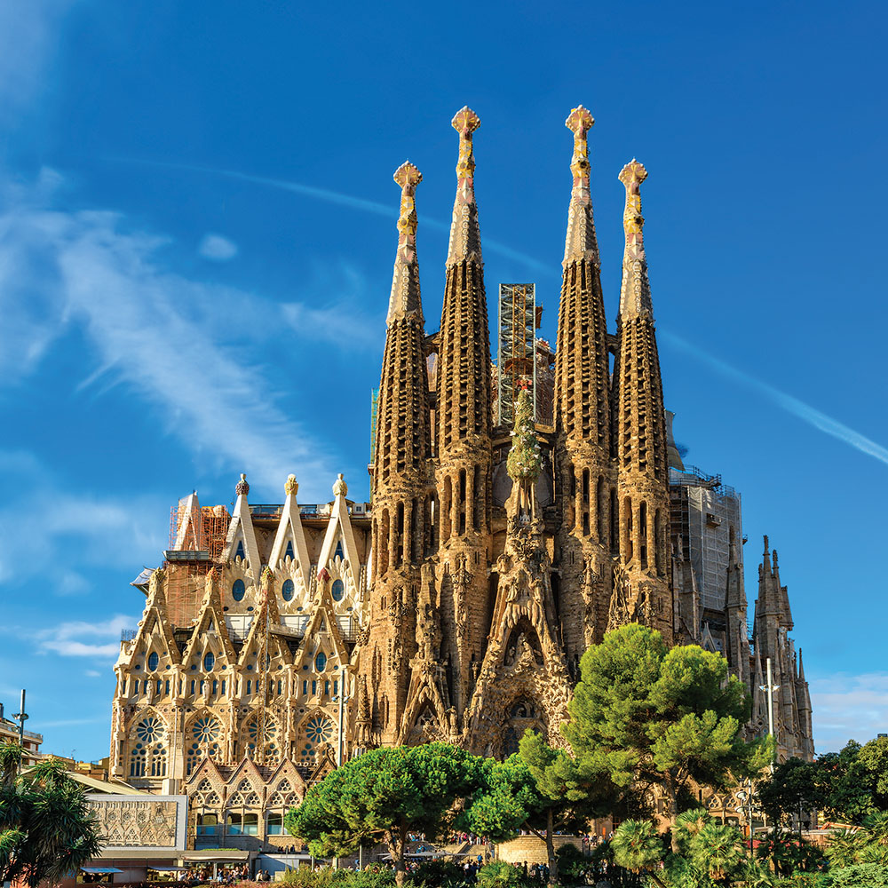 UNESCO-listed La Sagrada Familia