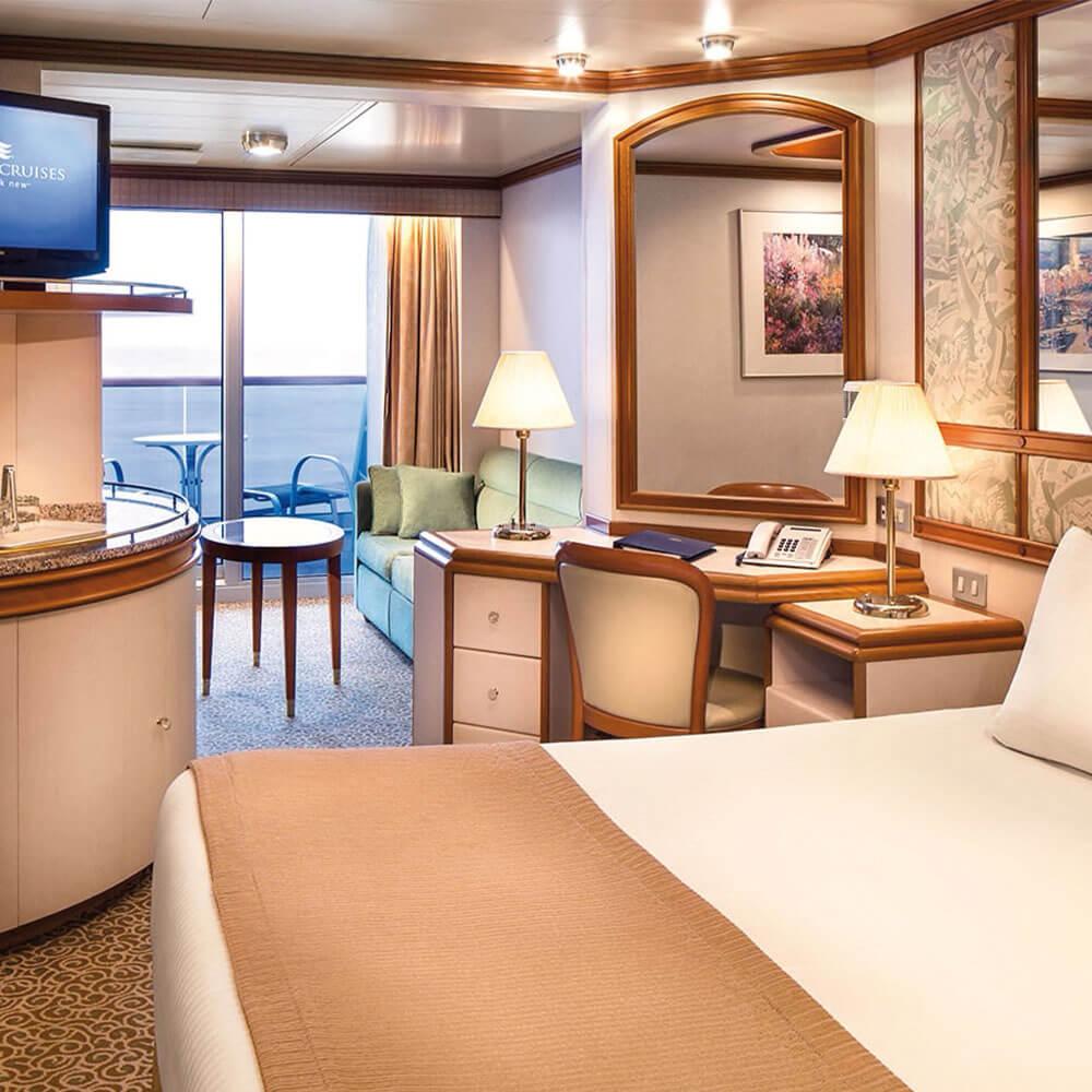 Suite on Diamond Princess ship