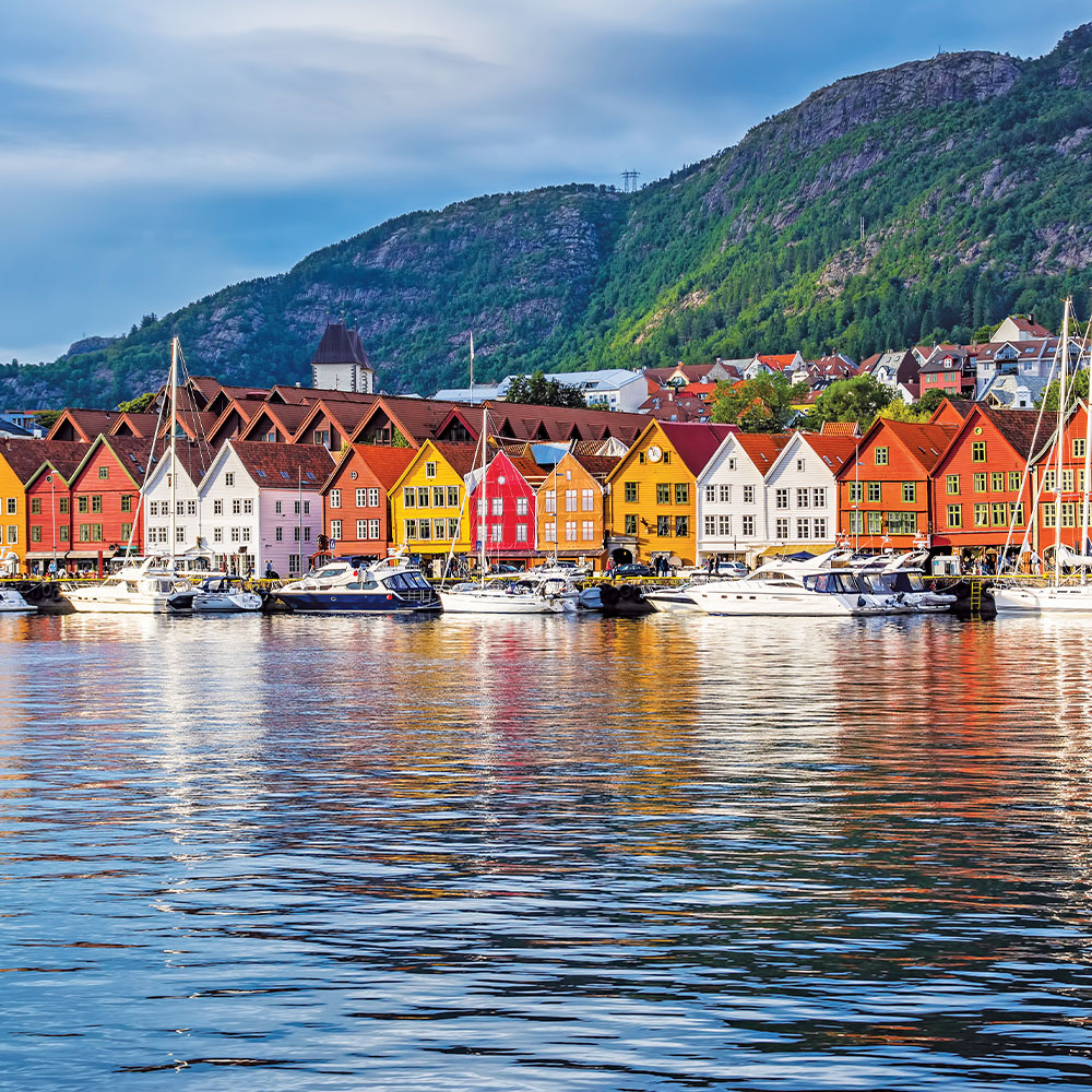 UNESCO World Heritage site of Bryggen
