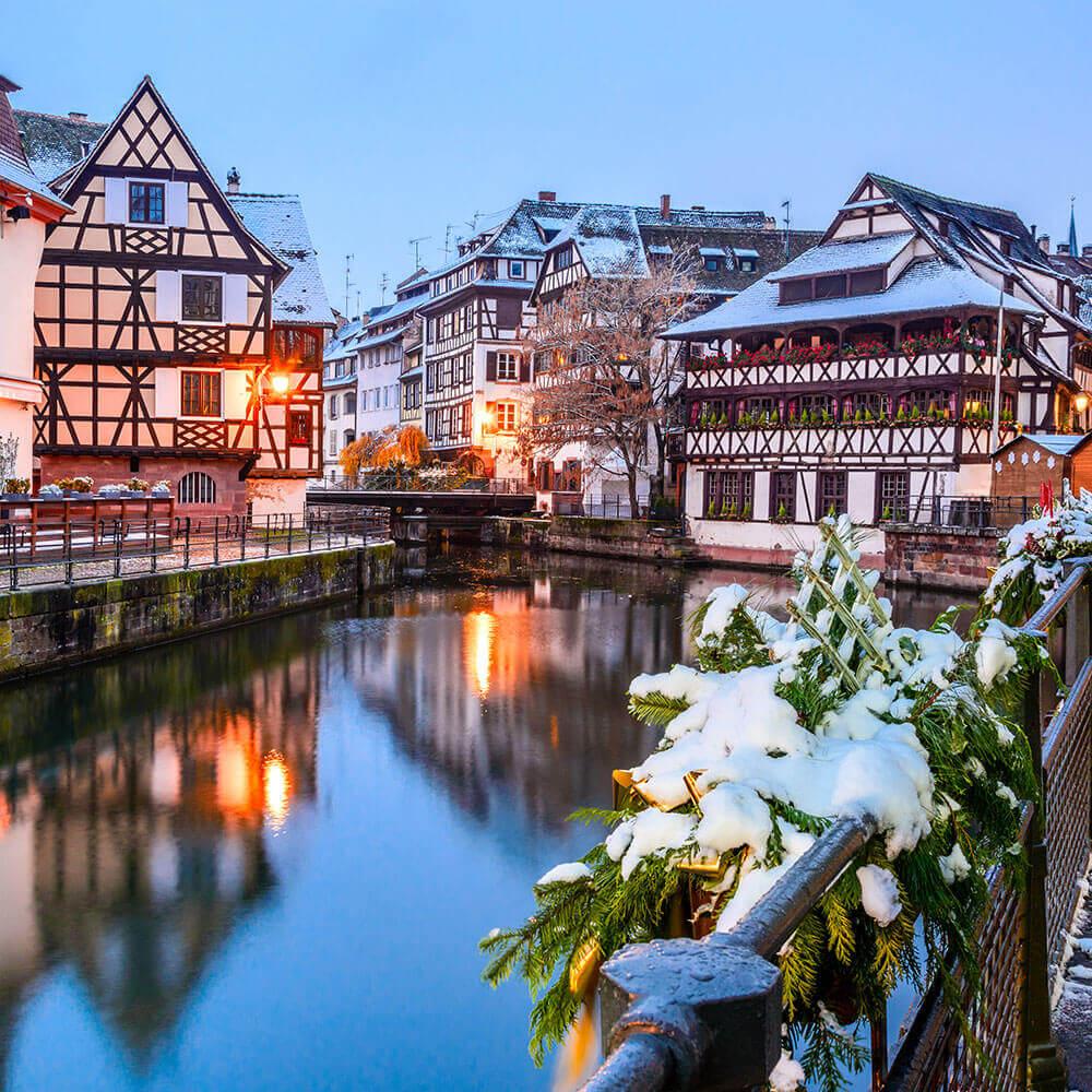 Snowy Strasbourg