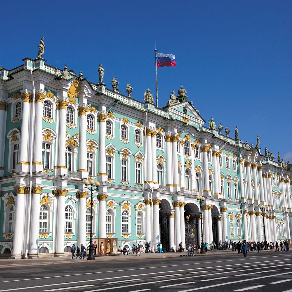 Hermitage Museum, St Petersburg