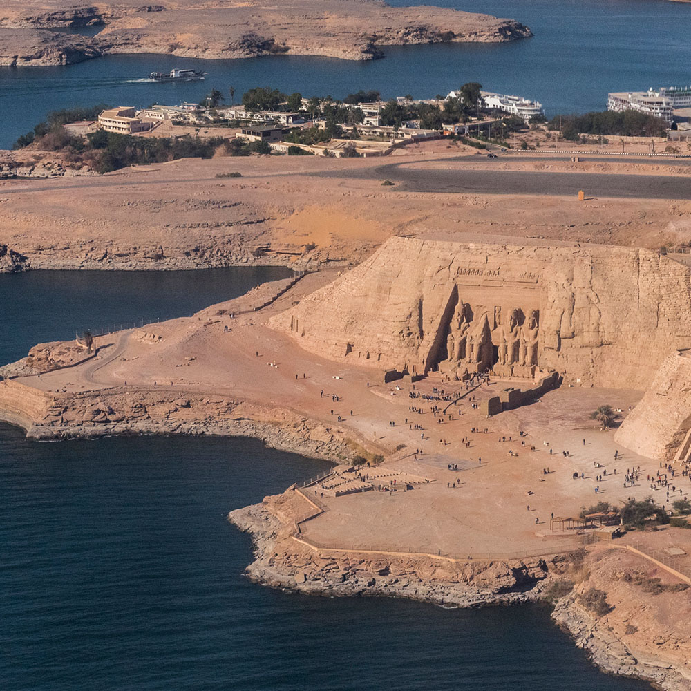Abu Simbel and Lake Nasser