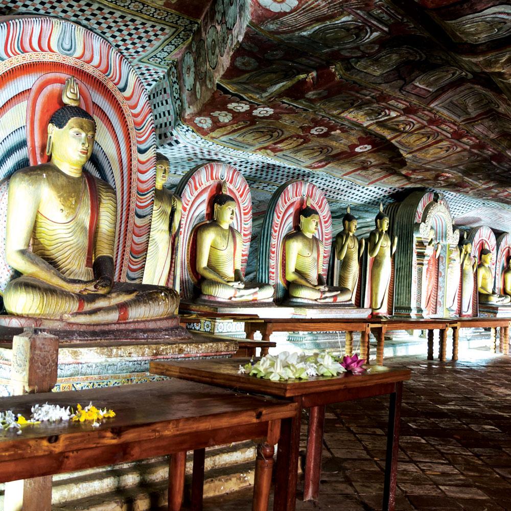 Cave temples of Dambulla