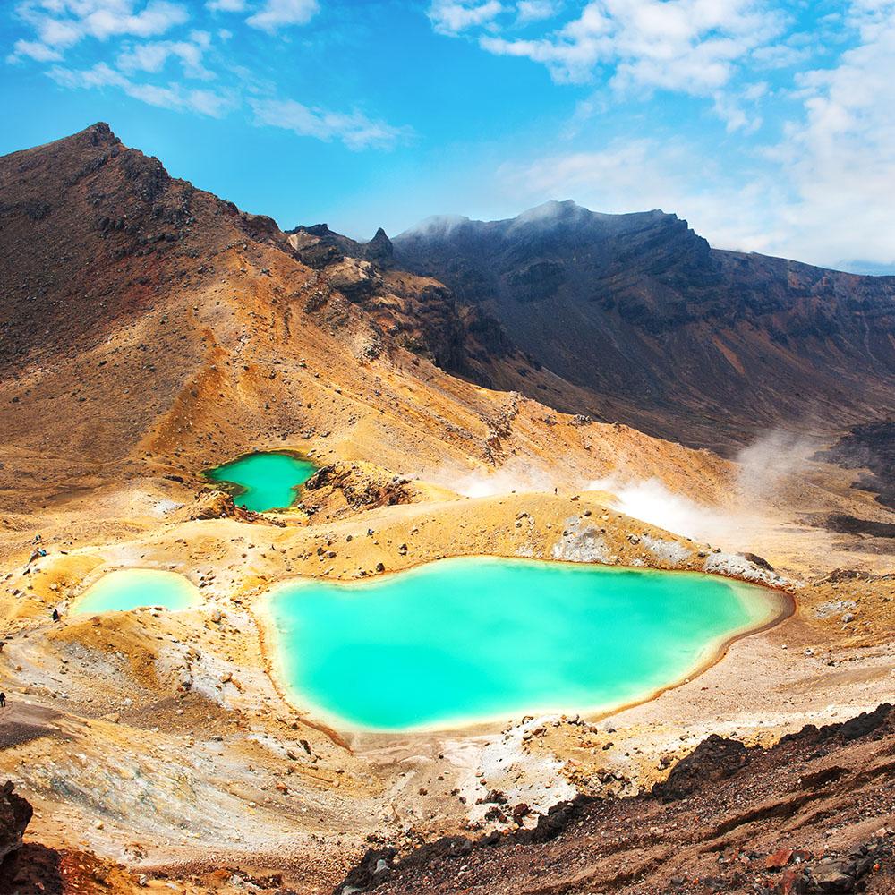 Emerald Lakes, Tongariro Crossing