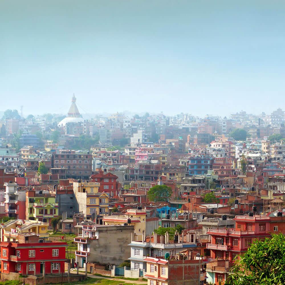 Kathmandu Cityscape