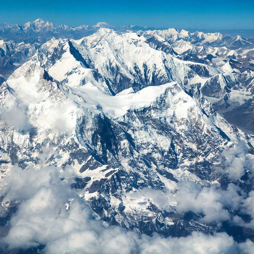 Fly over Mount Everest