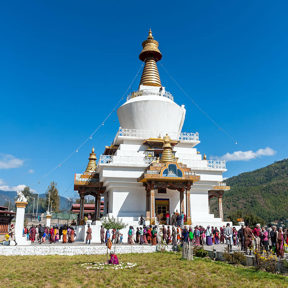 Memorial Stupa, Thimphu