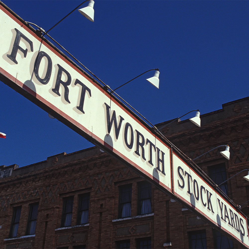 Entrance to Forth Worth Stock Yards
