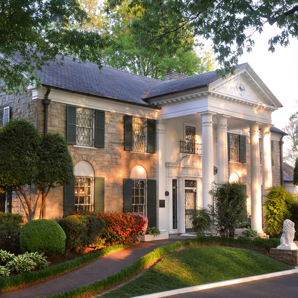 Elvis' Graceland mansion