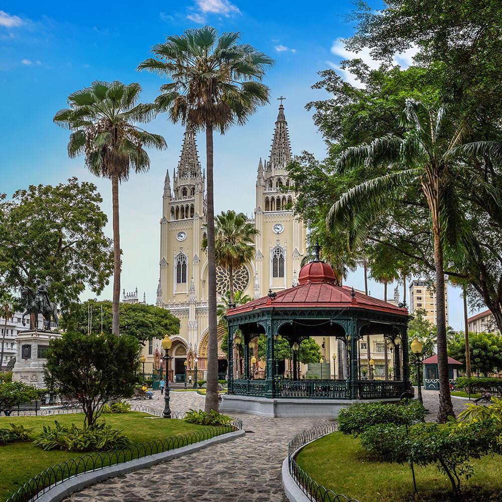 Seminario Park (Iguanas Park) Guayaquil