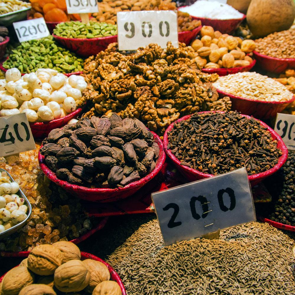 Delhi Market Stall