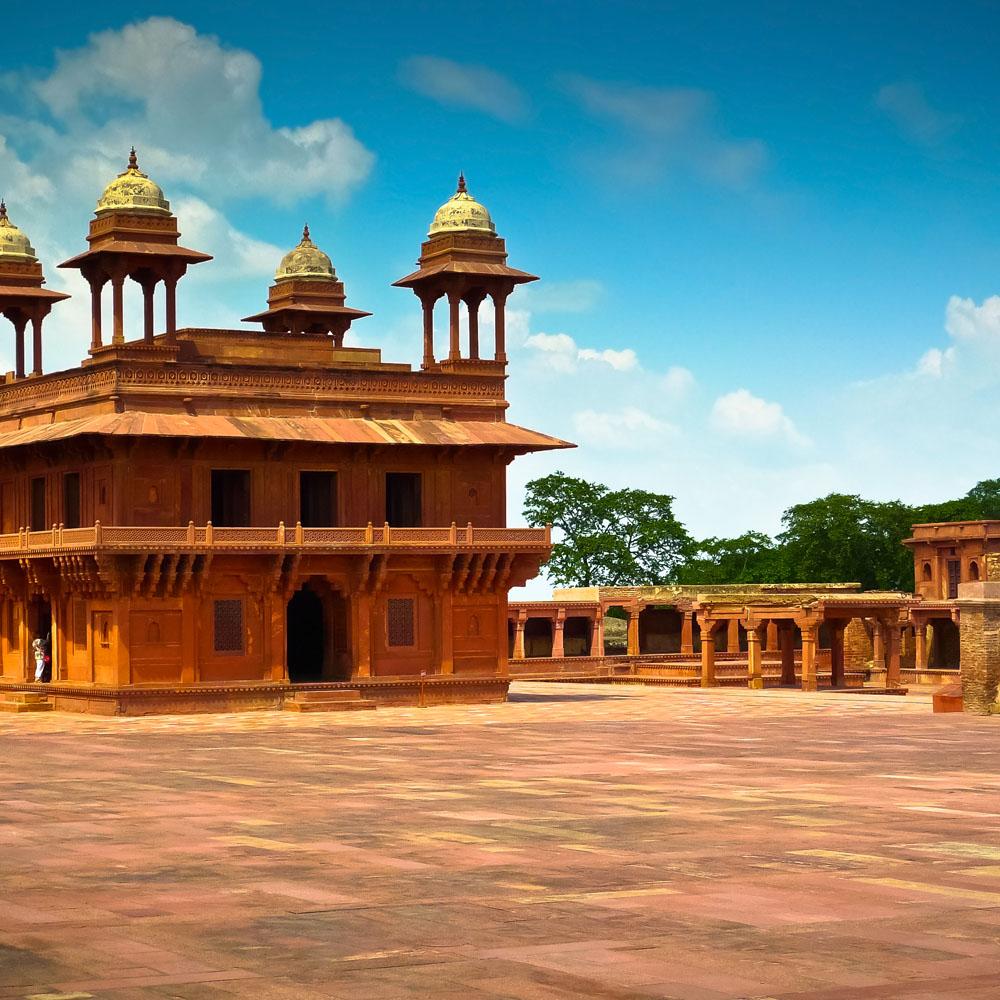 Diwan-i-Khas Court, Fatehpur Sikri