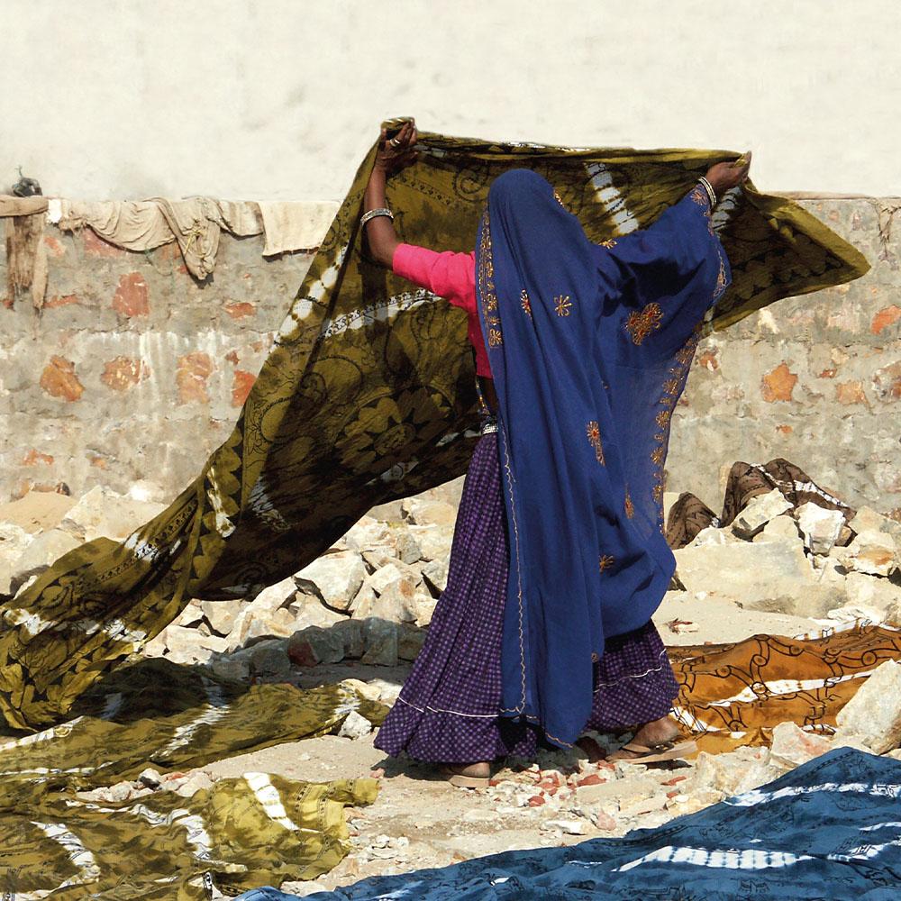 Textiles in Sanger Village