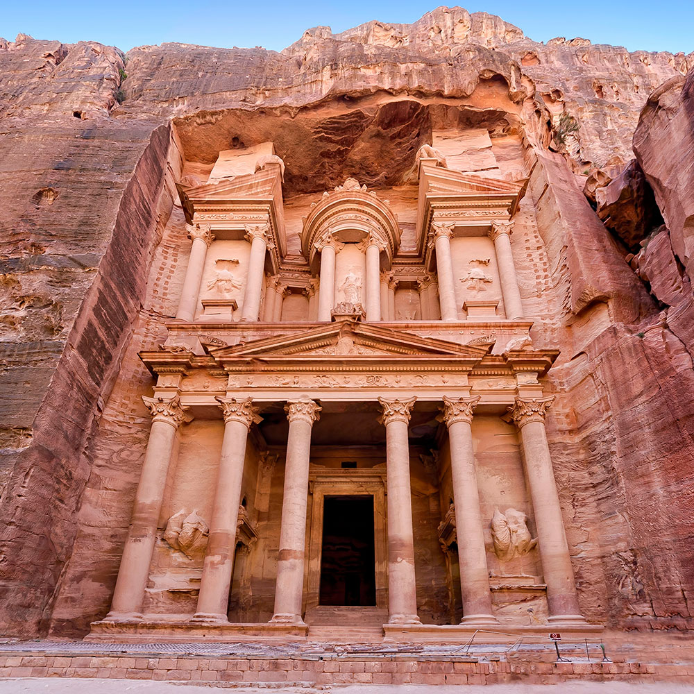Entrance to the Treasury, Petra