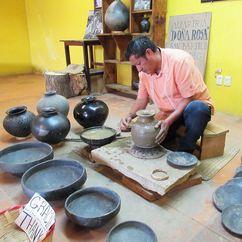 Dona Rosa Black Pottery