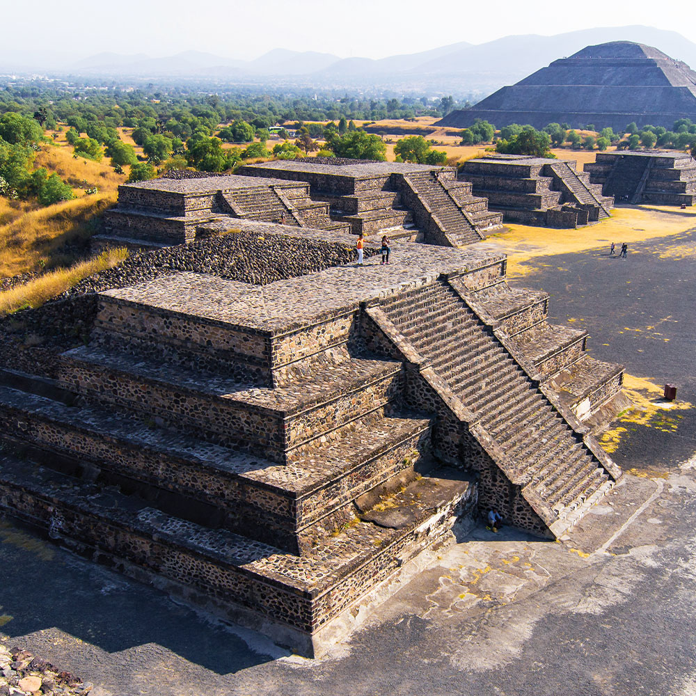 UNESCO World Heritage site of Teotihuacán
