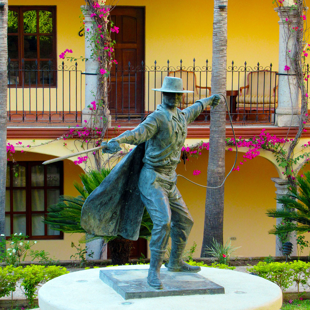 Statue of Zorro