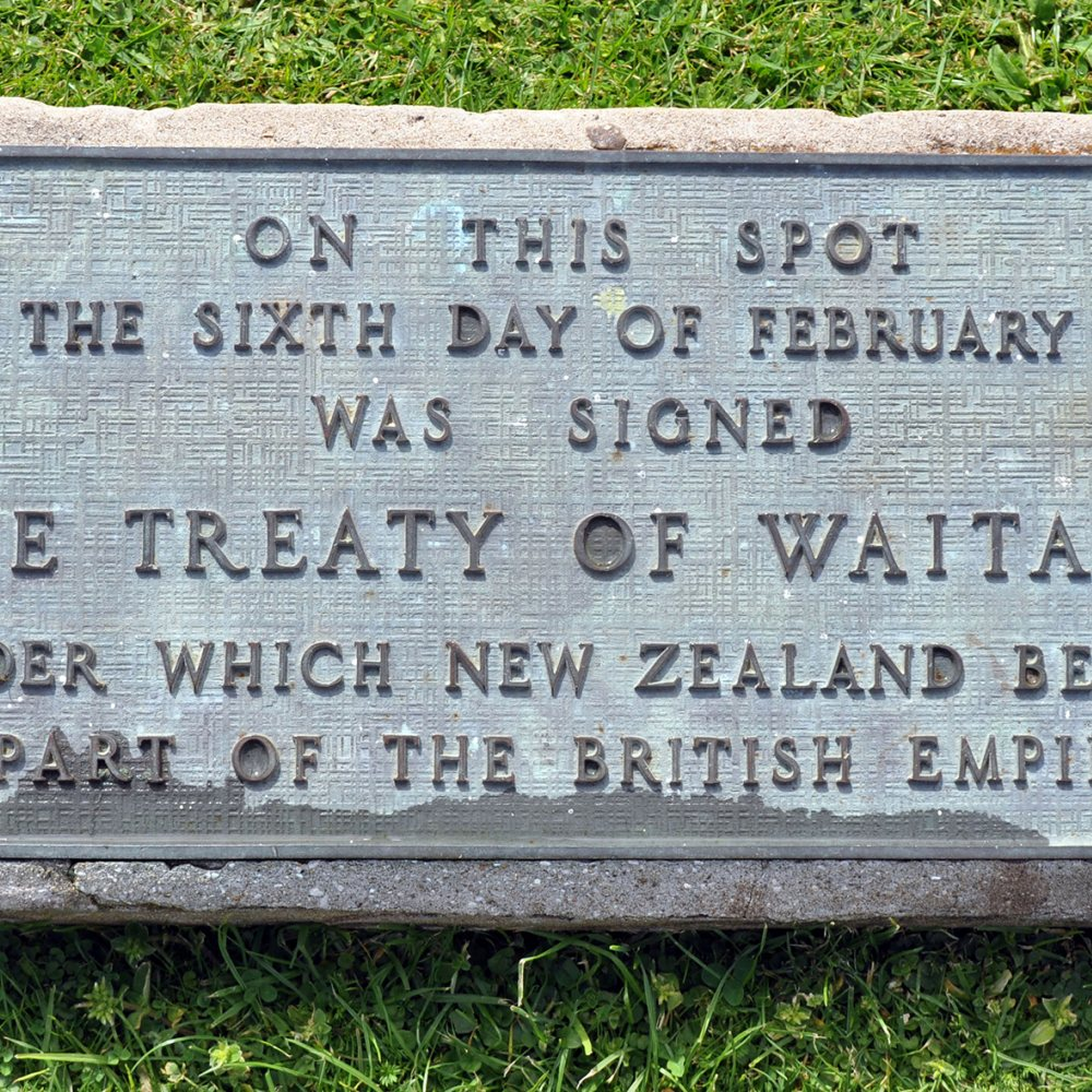 Treaty of Waitangi memorial