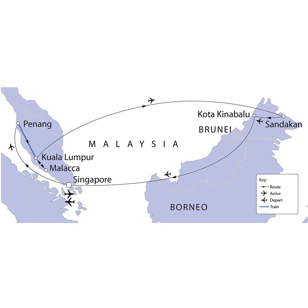 Malaysia, Borneo & Singapore   Riviera Travel