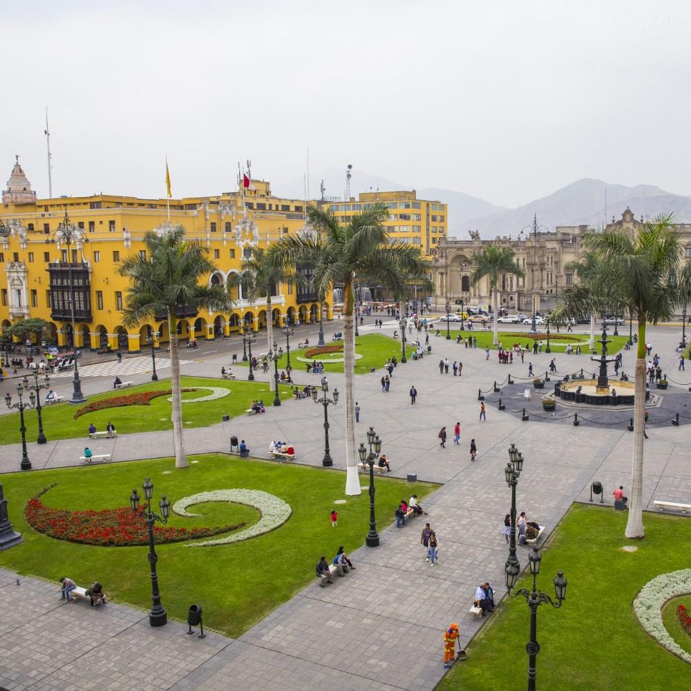 Plaza de Armas,Lima