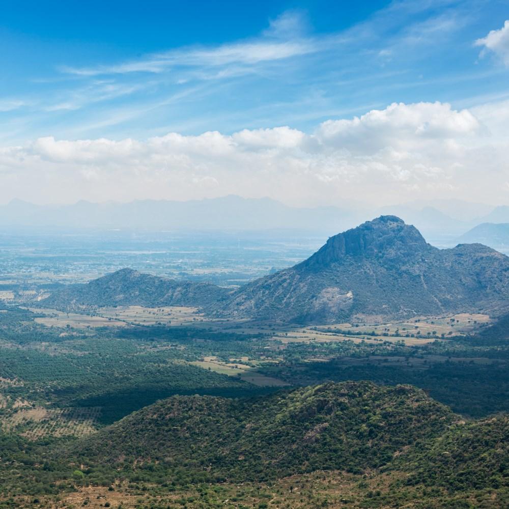 Western Ghats Mountain Range