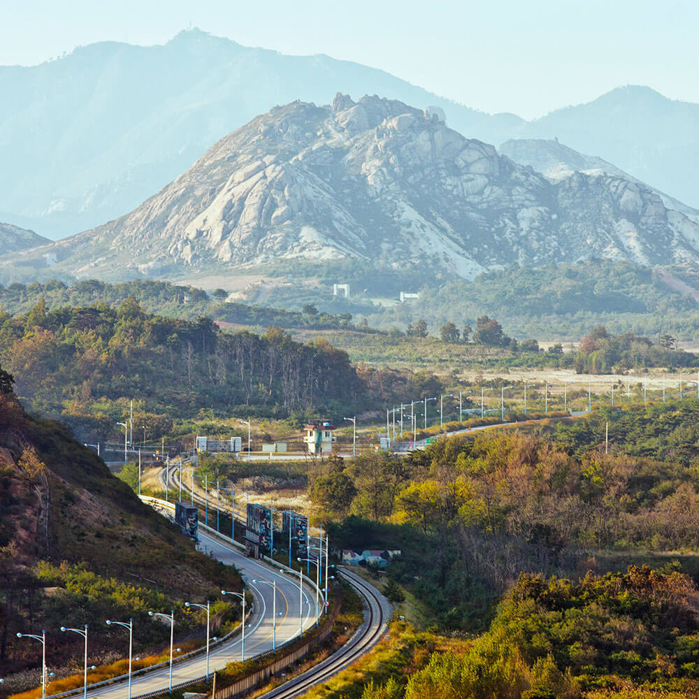 DMZ and the Diamond Mountains