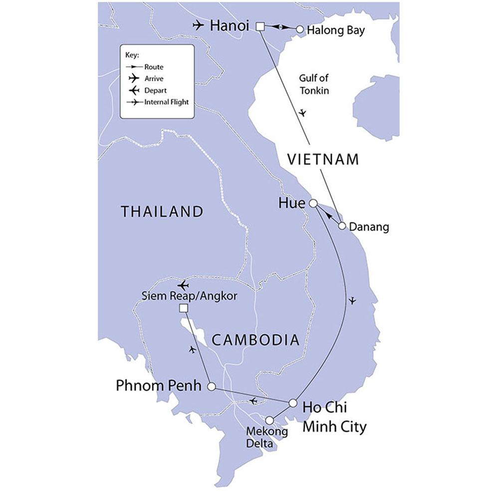 Vietnam & Cambodia | Riviera Travel