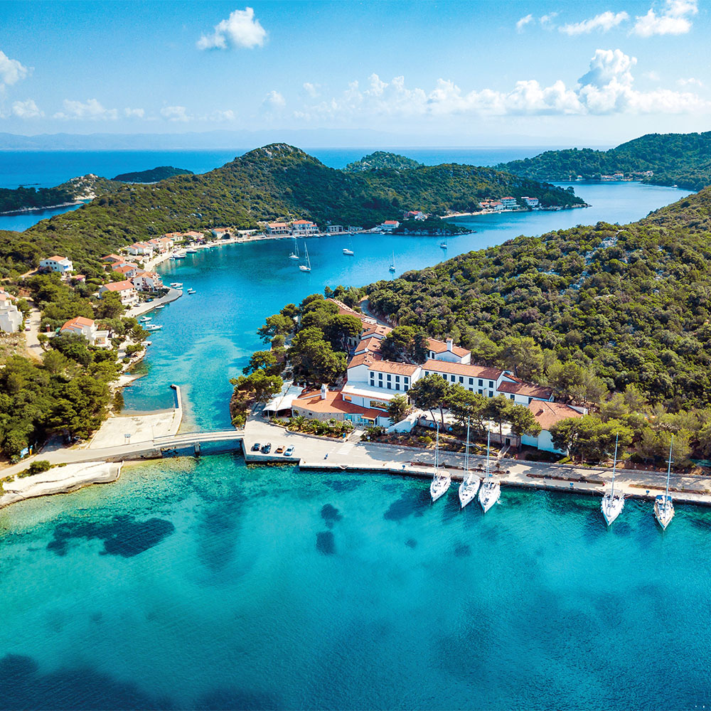 Remote island of Lastovo