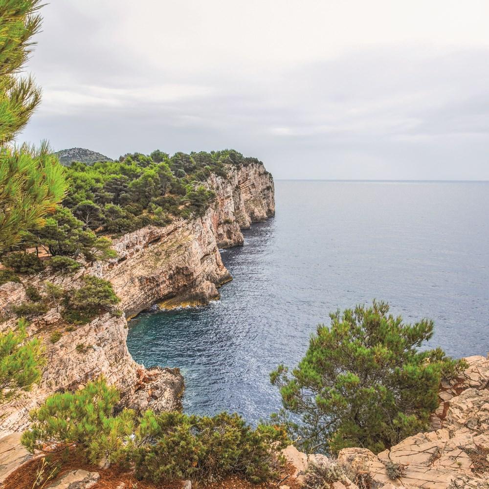 Ocean view from Kornati National Park